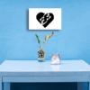 chichimart design, wall art double love