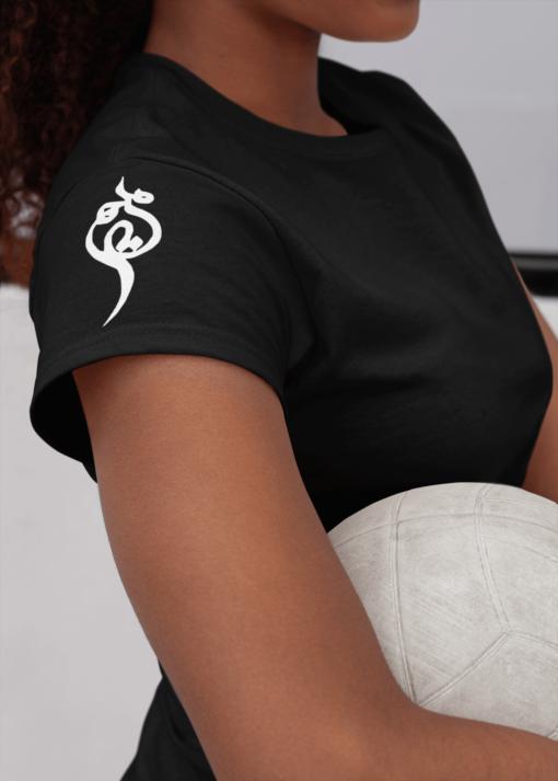 Persian name Maryam, farsi calligraphy t-shirts, sleeves calligraphy t-shirts