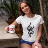 Persian name Kiana, Persian calligraphy t-shirts